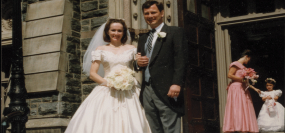 Jane Sullivan Roberts and Justice John Roberts on their wedding day.