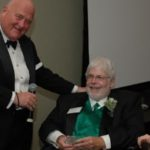 Don Keenan and honoree Ed Moran