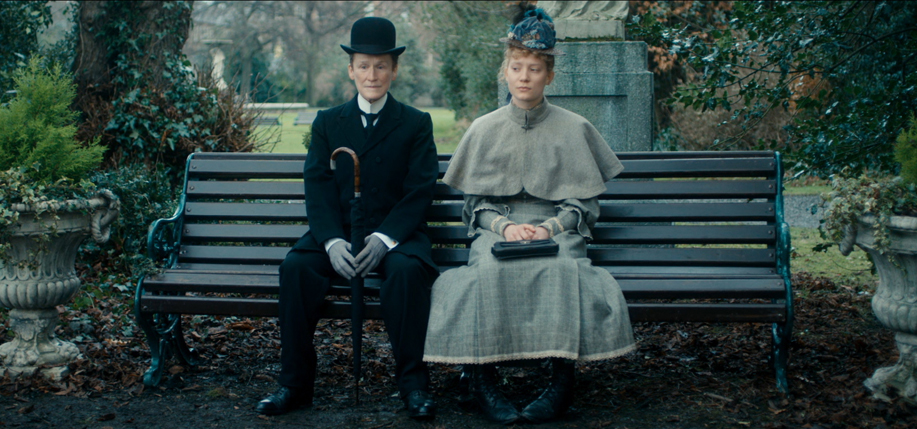 Glenn Close and Mia Wasikowska in Albert Nobbs