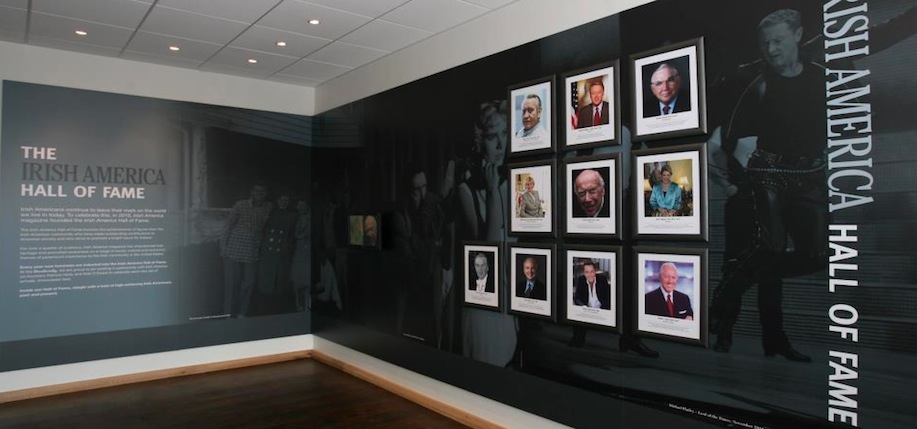 The Hall of Fame at the Dunbrody Emigration Center