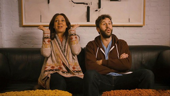 Chris O'Dowd and Maya Rudolph in Friends With Kids.