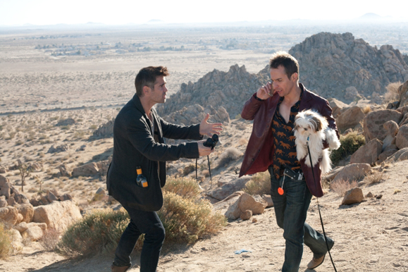 Colin Farrell and Sam Rockwell in a still from Seven Psychopaths. Photo by Chuck Zlotnick.