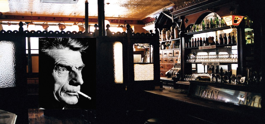 Kehoe's Bar, a favorite haunt of Samuel Beckett