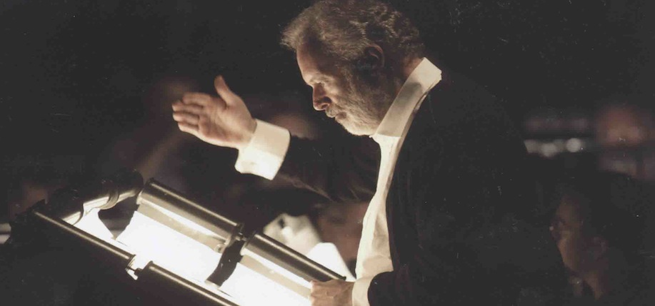 Kenneth Montgomery conducting