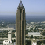 Nations Bank Plaza. At 55 stories, it is the tallest building in Atlanta. Photo courtesy of Kevin Roche, John Dinkeloo and Associates.