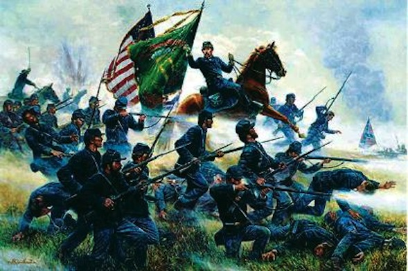 The Battle at Gettysburg