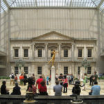 The courtyard of the American Wing, Metropolitan Museum of Art, New York. Photo courtesy of Kevin Roche, John Dinkeloo and Associates.