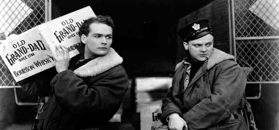 (Right): Hollywood legend James Cagney who had Irish roots.