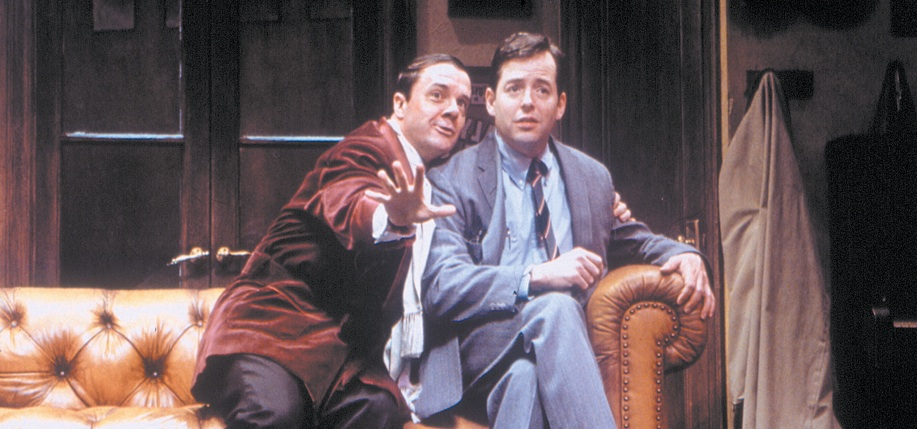 Nathan Lane and Matthew Broderick in The Producers