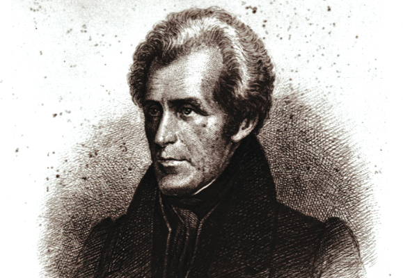 President Andrew Jackson's family came to South Carolina from Carrickfergus