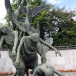 The Children of Lir statue at the Garden of Remembrance in Dublin.