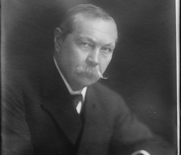 Sir Arthur Conan Doyle. Photo: Library of Congress.