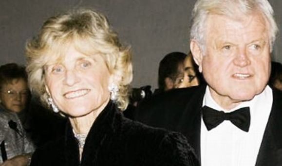 Siblings Jean Kennedy Smith and Ted Kennedy. Photo: Google Images.