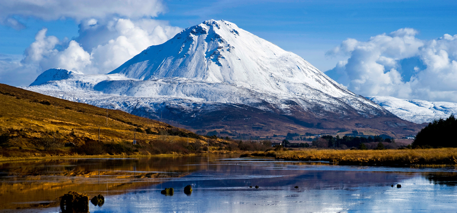 Donegal's majestic Mount Errigal. Courtesy of Tourism Ireland.