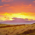 Sunset over Horn Head. Courtesy of Tourism Ireland.