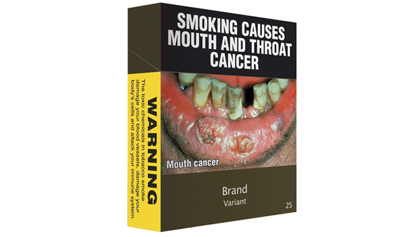 The proposal for Ireland's new standard cigarette packaging