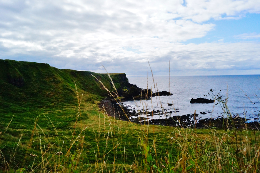Giant's Causeway, a World Heritage Site located in Bushmills, County Antrim in Northern Ireland