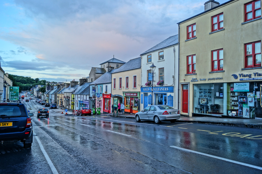 In the city of Westport, County Mayo