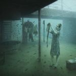 "The resting ships at the bottom of the sea offer a unique background for the photographs of Andreas Franke. The photographer says: ""With my photographs of sunken shipwrecks, I want to pull the spectators into unreal and strange worlds. Mystified scenes of the past play within a fictional space. Dreamworlds you can get lost in or that you can identify with. This creates a new and unexpected atmosphere. This work shows [a lot] of myself, since I am always on the lookout for stunning themes to create new images never seen before."" Photo: Andreas Franke."