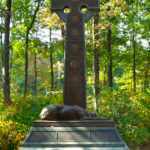 The Irish Brigade memorial at Gettysburg. Photo: Wikimedia Commons.