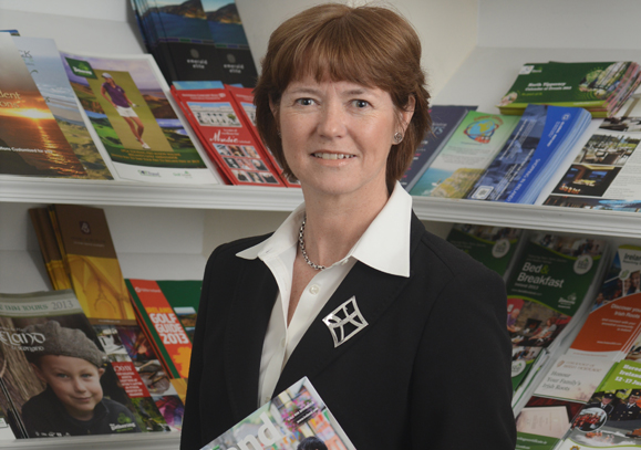 Alison Metcalfe of Tourism Ireland