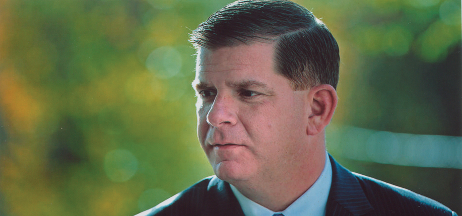 Mayor of Boston Marty Walsh