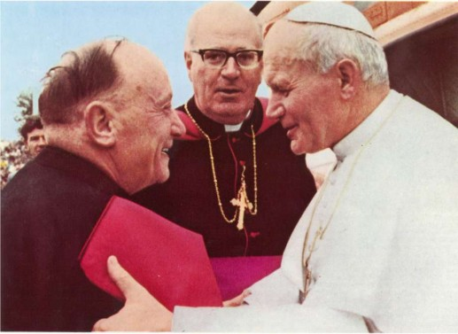 Pope John Paul II visited the shrine on September 30, 1979 to commemorate the centenary of the apparition and established the shrine church as a basilica.