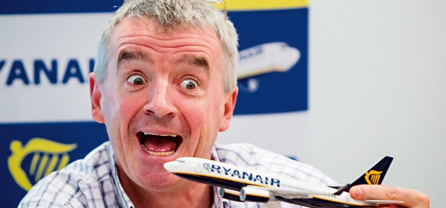 Michael O'Leary, CEO of Ryanair.