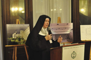 Sister Maire Hickey, O.S.B., Abbess of Kylemore Abbey.