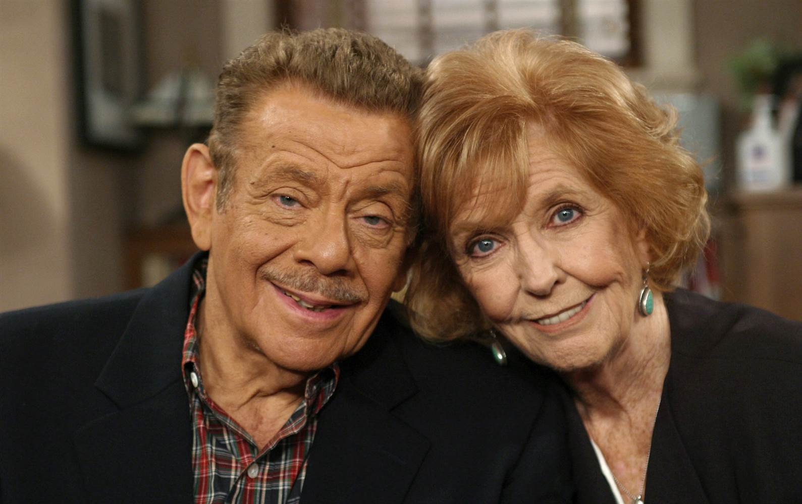 Anne Meara (right) with her husband Jerry Stiller.