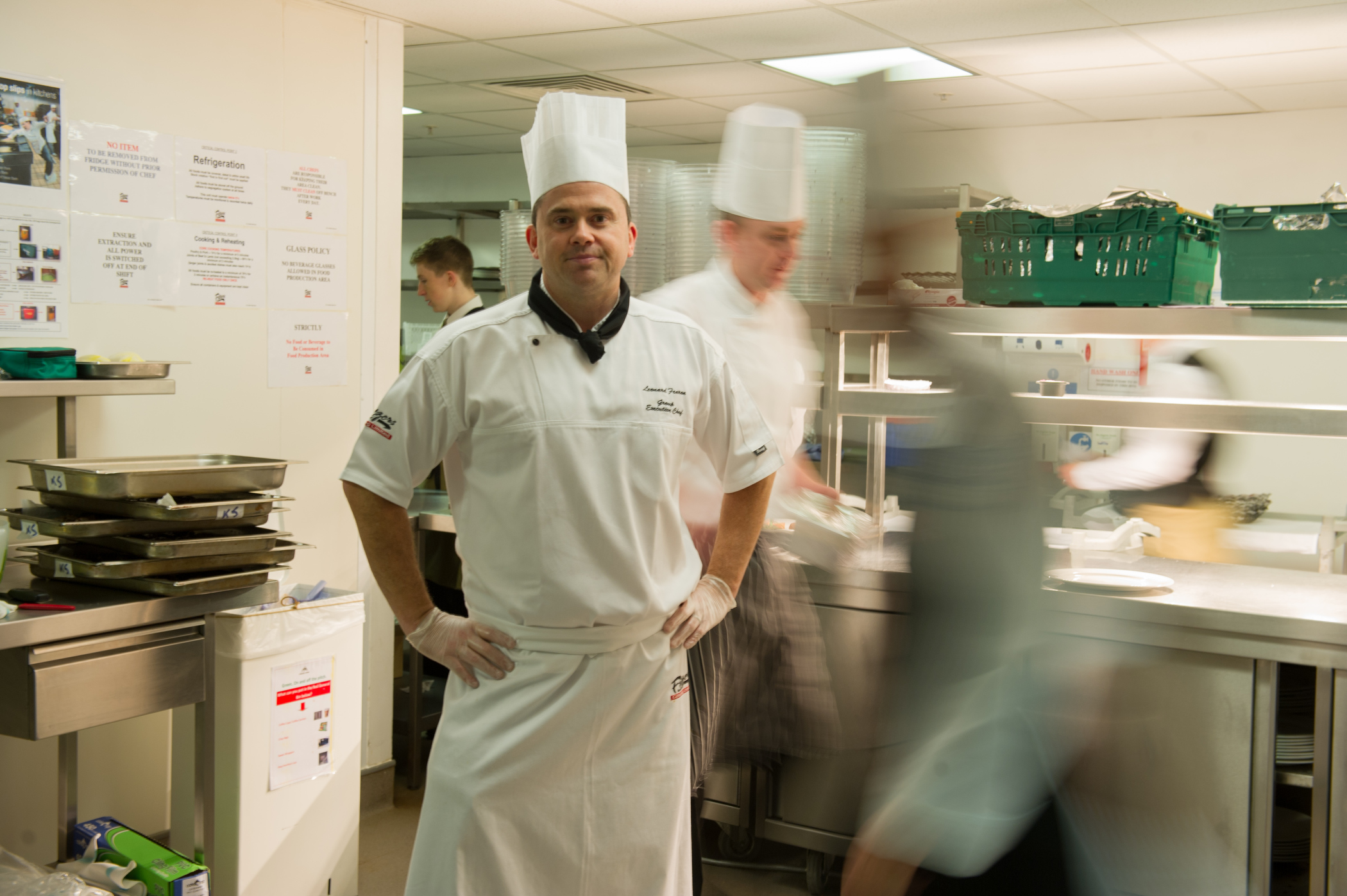 Fitzers catering company and Croke Park Executive Chef Len Fearon. (Photo: Barry Cronin)