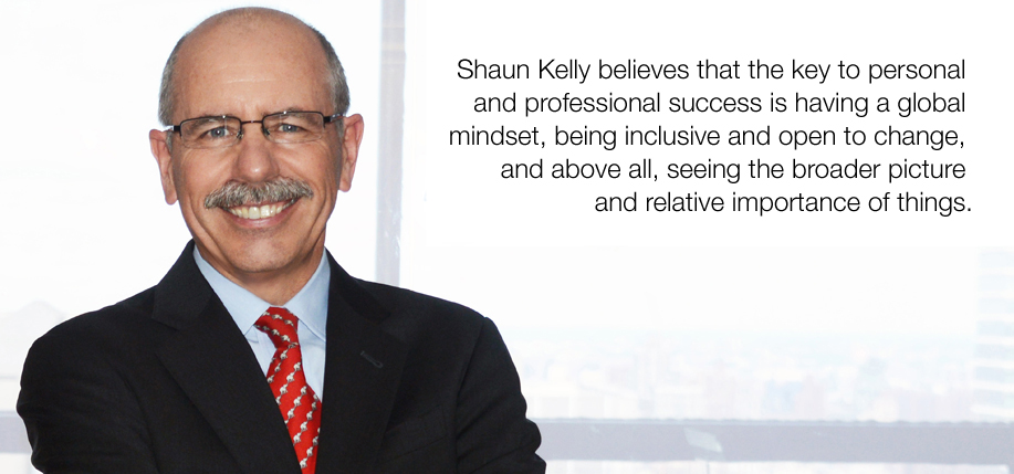 Shaun Kelly is Chief Operating Officer Americas for KPMG. Having worked for the company his entire career in Belfast and the U.S. he brings a unique perspective to the market, writes Patricia Harty. (Photo: Kit DeFever)