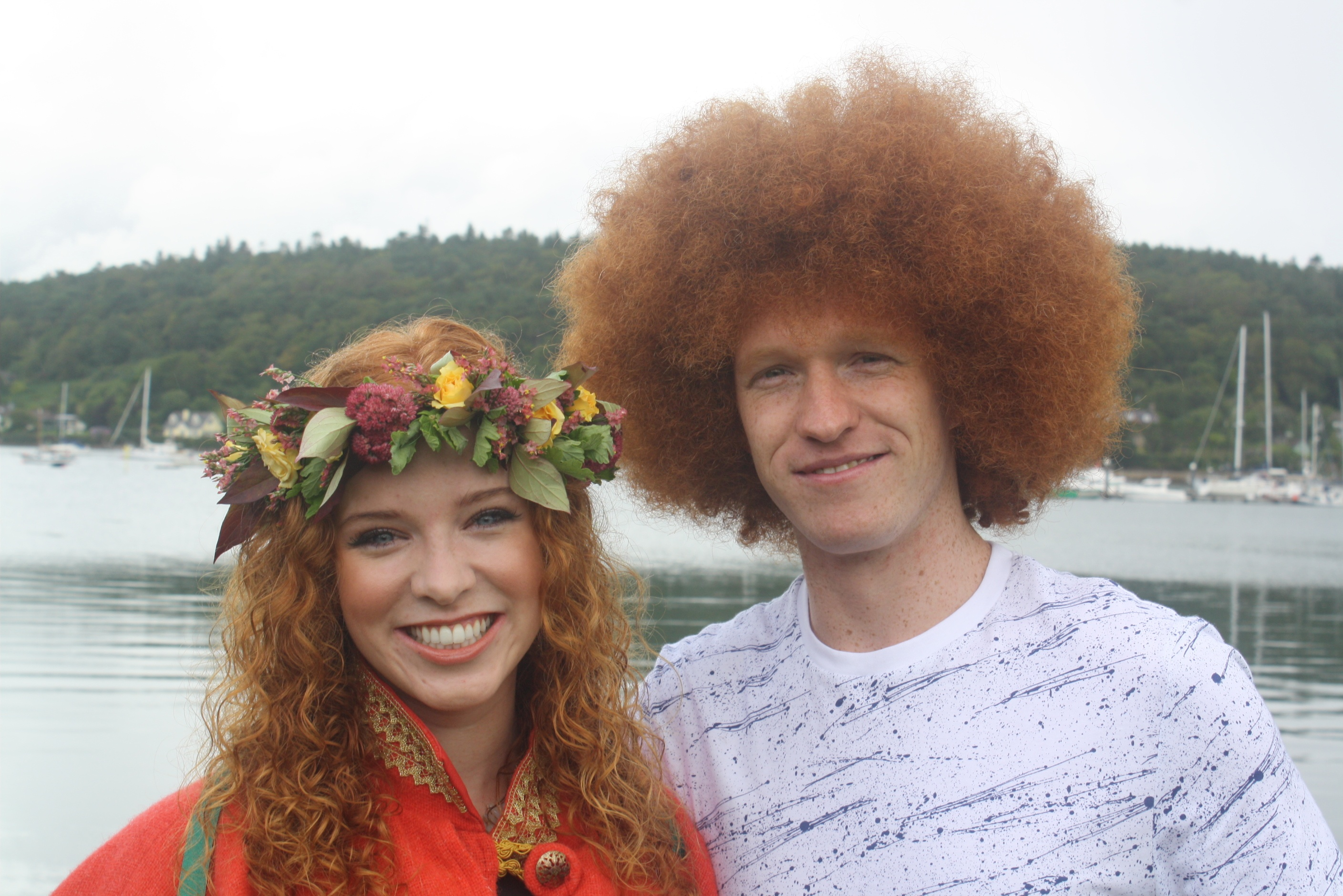 Red Head Convention - 2014 Queen with 2015 King