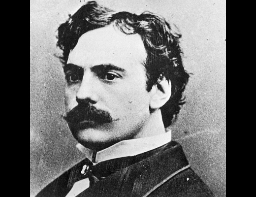 The actor James O'Neill., father of American playwright Eugene O'Neill, c. 1865.