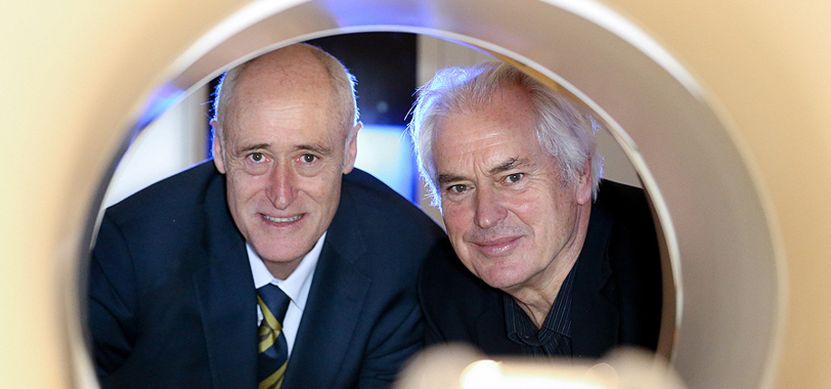 Brian Lawlor and Ian Robertson lead a new Trinity College research initiative.