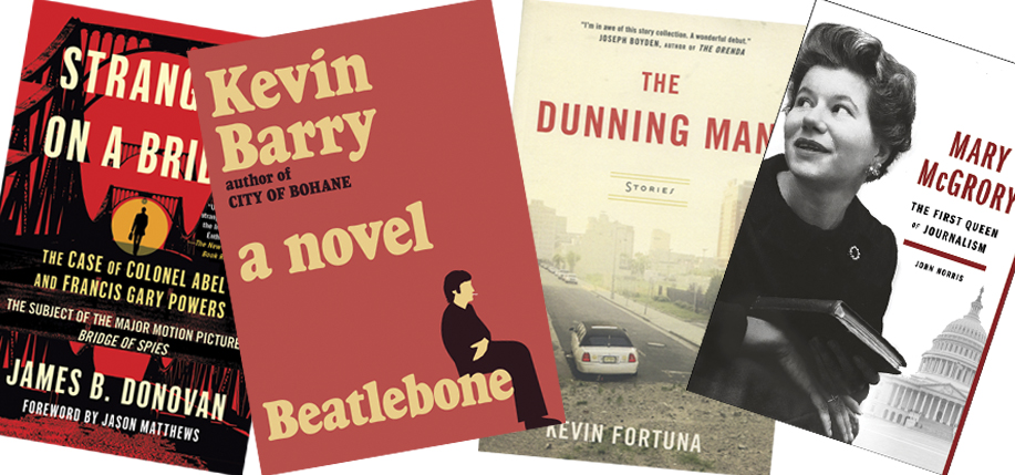 Recently released books of Irish American interest, all.