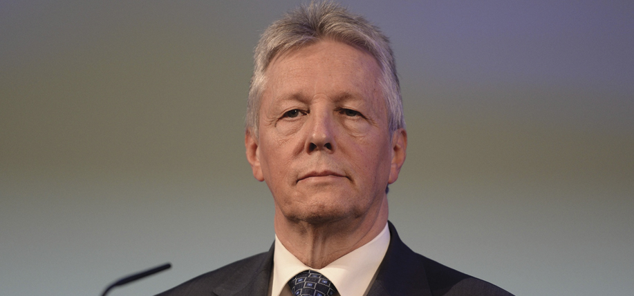 Peter Robinson stands down as N.I. First Minister. (Photo: Artur Widak/NurPhoto/REX)