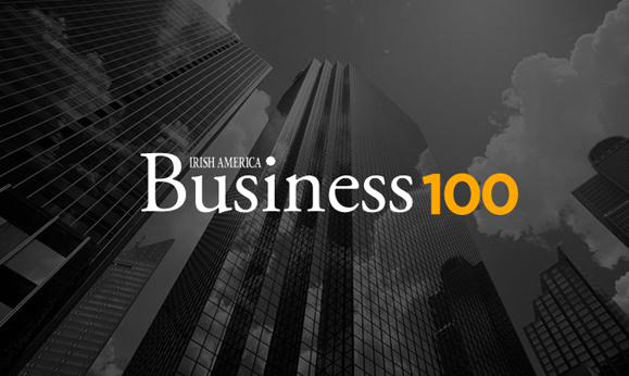 Irish America announces the 30th Annual Irish America Business 100 Award honorees and celebrates with the 2015 Business 100 Awards Luncheon at the Metropolitan Club in New York December 3.