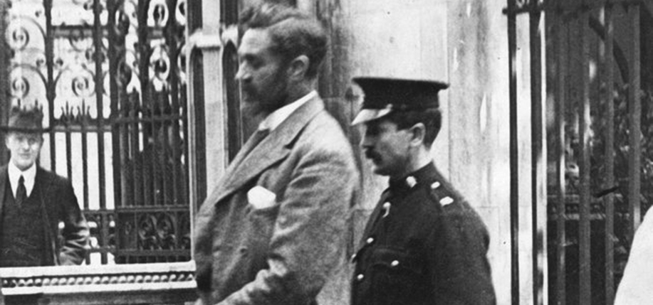 Casement was captured on April 21 having landed in Kerry via German submarine. He was transferred to the Tower of London, charged with espionage and treason, and hanged on June 29, 1916.