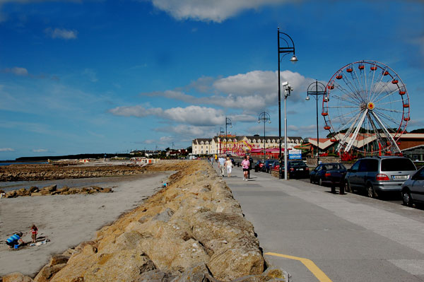 The Salthill Promenade in Co. Galway.