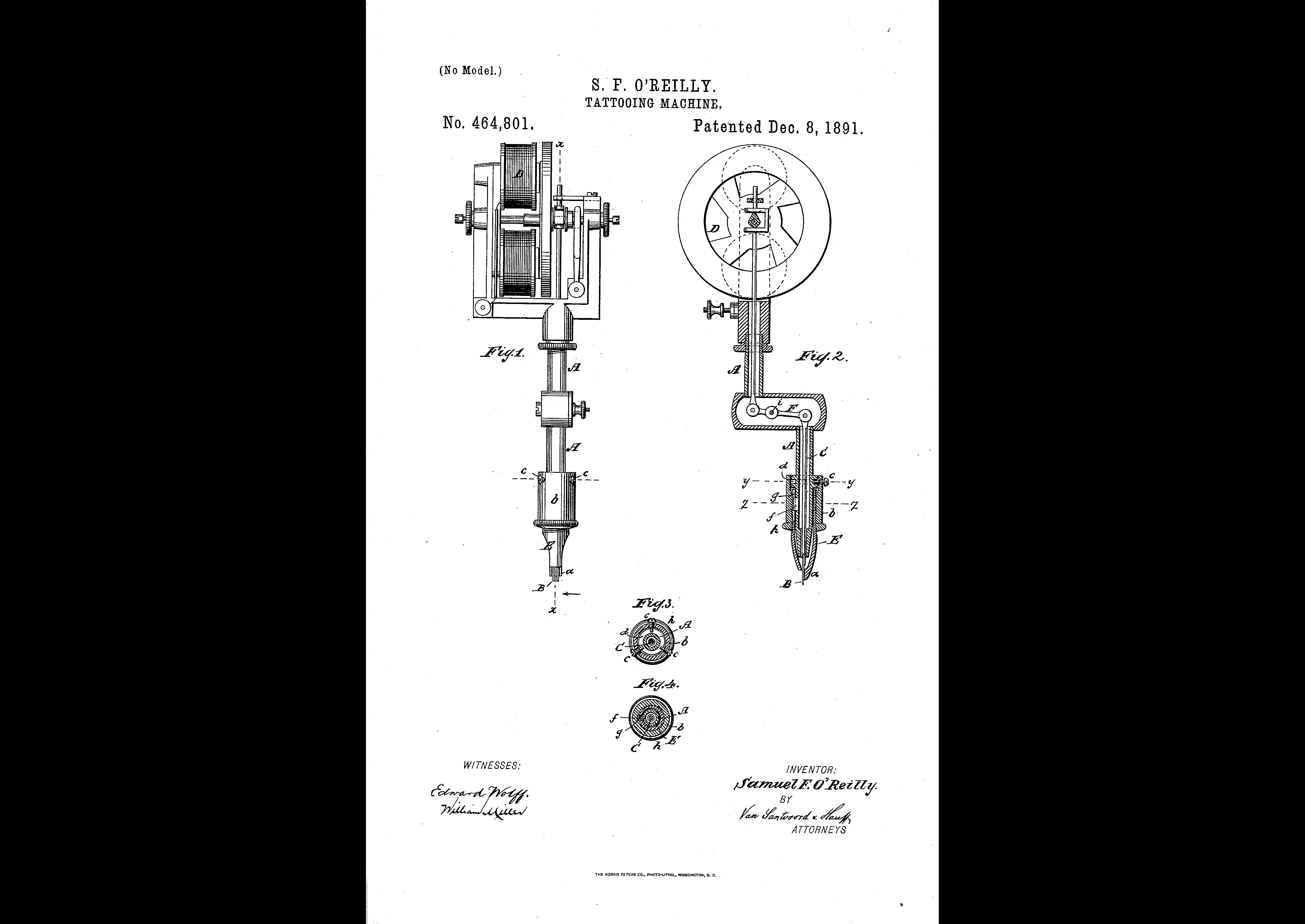 O'Reilly's Patent.