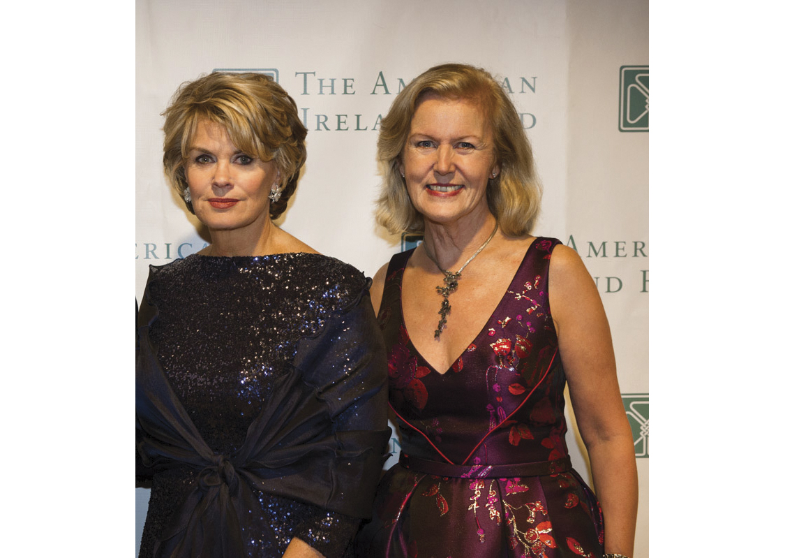 Power Women: Anne Finnucane and Anne Anderson at the American Ireland Fund Gala in Boston in March, 2015.