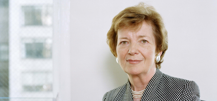 MARY ROBINSON (Photo: The Ethical Globalization Initiative)