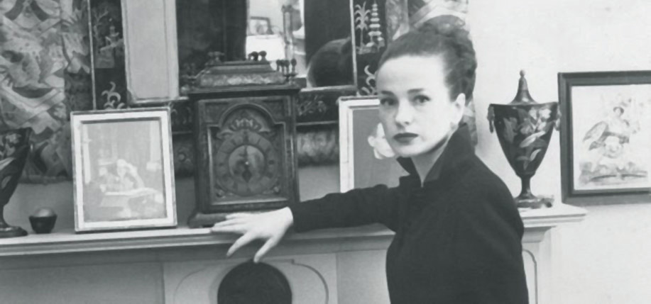 Maeve Brennan at her Greenwich Village home in an undated photograph. (Photo: Karl Blissinger / thelicentiate.com)