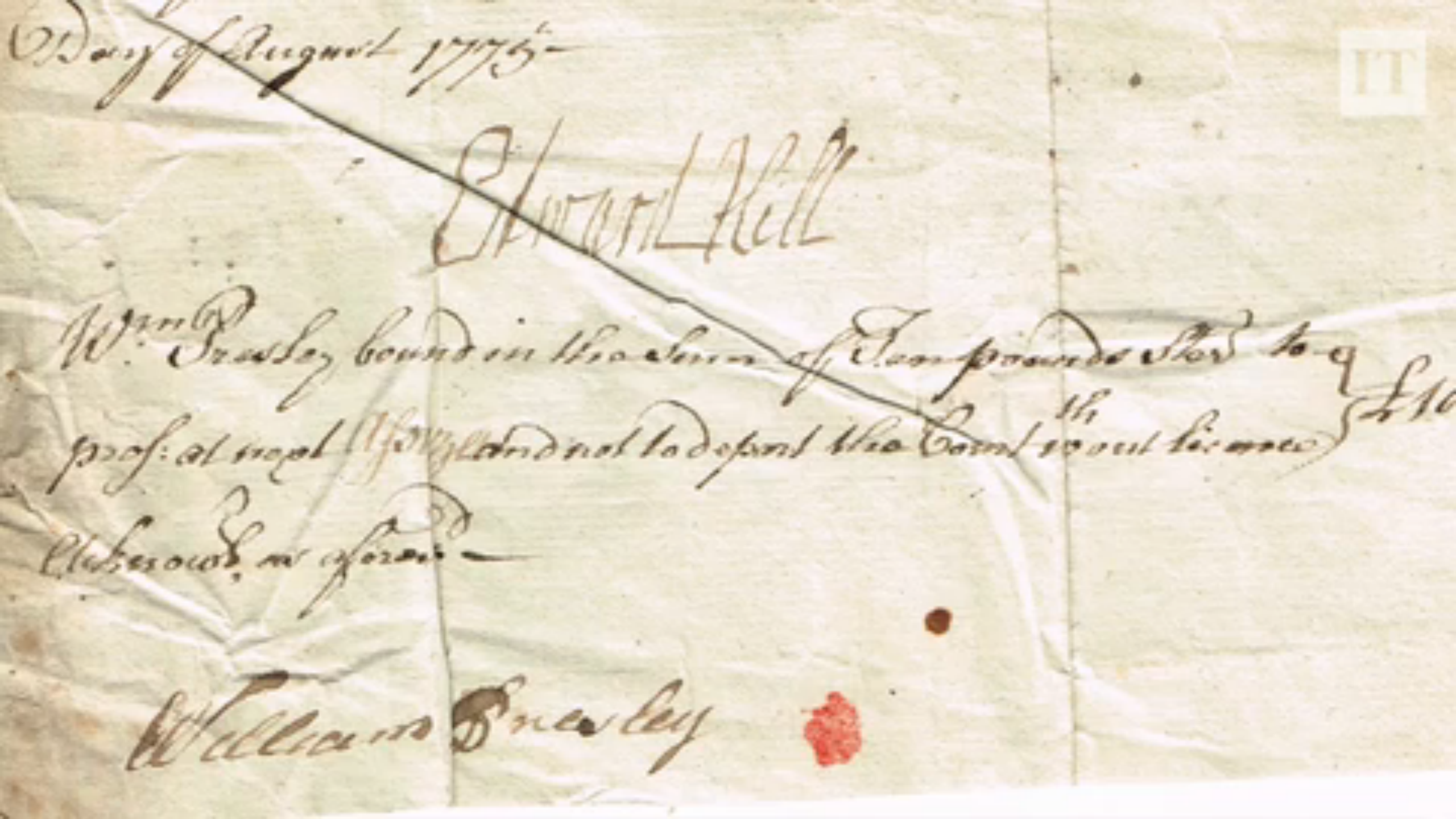 William Presley's signature.