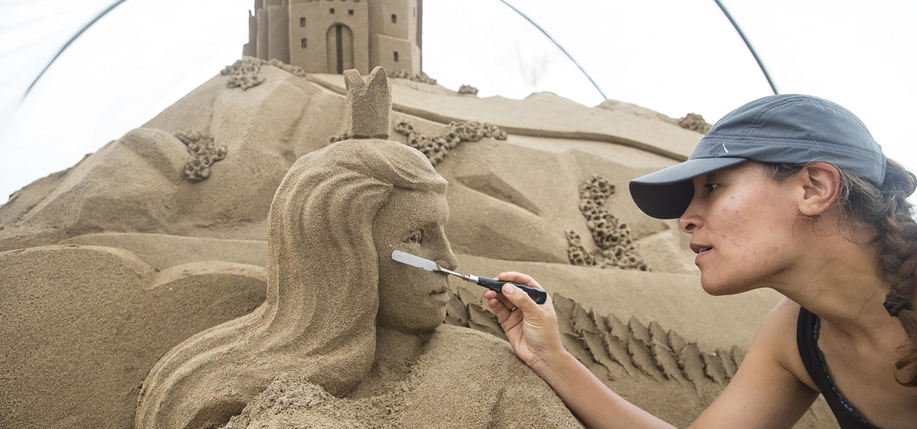 Ireland's first ever all-Ireland sand sculpting competition took place early August in Duncannon, Co. Wexford.