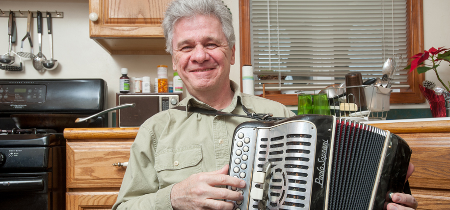 Billy McComiskey, who was just awarded a National Endowment for the Arts Heritage Fellowship.