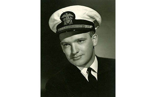 The  resemblance to Tom Hanks is evident in this photo of Donovan, who from 1943 to 1945, was as an officer in the U.S. Naval Reserve, served as general counsel to the Office of Strategic Services – predecessor of the CIA. (Courtesy  of Hoover Institution  Library & Archives,  Stanford University)