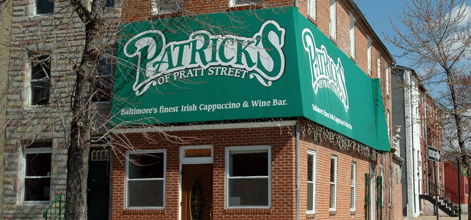 Patrick's of Pratt Street in Baltimore, allegedly the oldest Irish bar in the U.S., has closed.