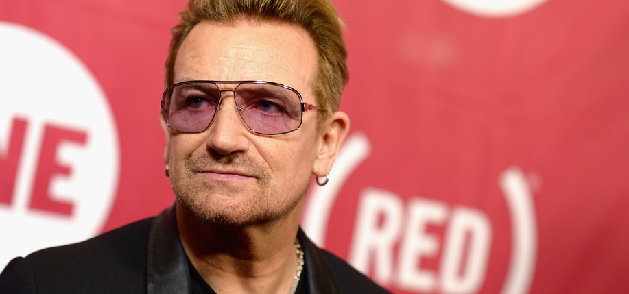 Bono is named Glamour magazine's Man of the Year.